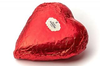 Cuori di cioccolato fondente